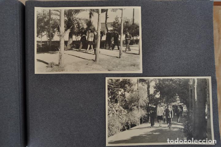 Militaria: ÁLBUM. ALICANTE 12 DE OCTUBRE 1944. VIRGEN DEL CARMEN. PERSONALIDADES. FALANGE. AVIACIÓN. BASE AÉREA - Foto 20 - 135226126
