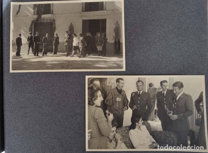 Militaria: ÁLBUM. ALICANTE 12 DE OCTUBRE 1944. VIRGEN DEL CARMEN. PERSONALIDADES. FALANGE. AVIACIÓN. BASE AÉREA - Foto 22 - 135226126