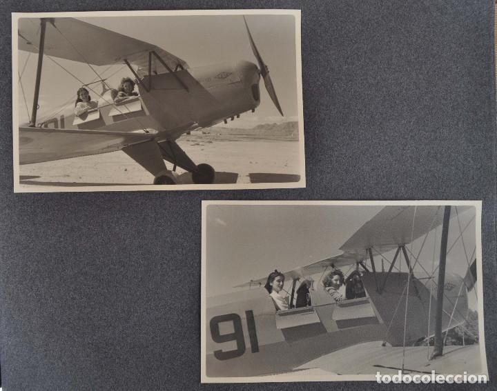 Militaria: ÁLBUM. ALICANTE 12 DE OCTUBRE 1944. VIRGEN DEL CARMEN. PERSONALIDADES. FALANGE. AVIACIÓN. BASE AÉREA - Foto 24 - 135226126