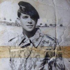 Militaria: FOTOGRAFÍA PARACAIDISTA BRIGADA PARACAIDISTA. BRIPAC TRAJE DE SALTO. Lote 135622278