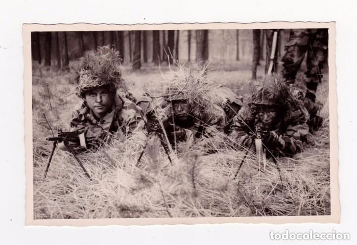 ANTIGUA FOTO SOLDADOS ALEMANES CAMUFLAJE KIEL (Militar - Fotografía Militar - Otros)
