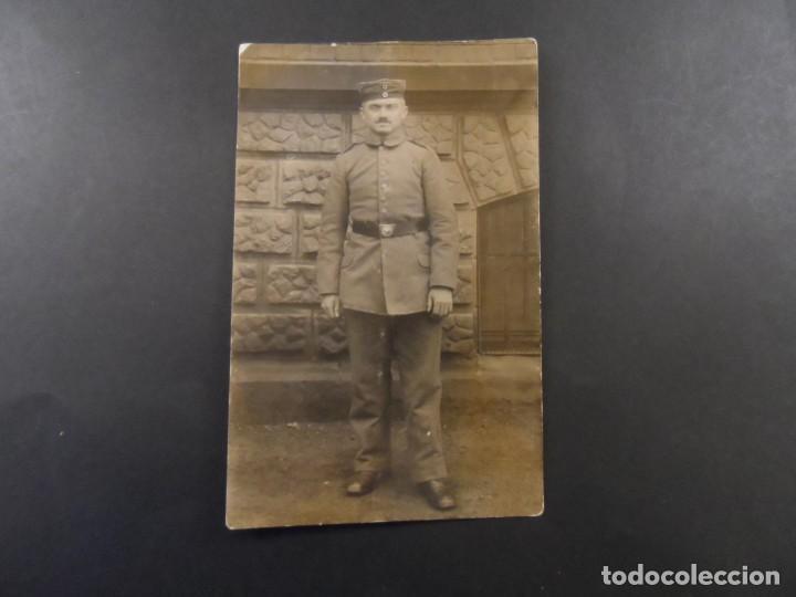 Militaria: POSTCARD SOLDADO IMPERIAL ALEMAN. II REICH. AÑOS 1914-18 - Foto 2 - 135742718