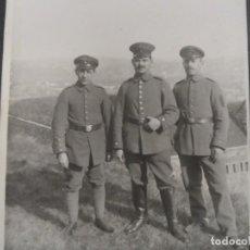 Militaria: 3 SOLDADOS IMPERIALES ALEMANES. II REICH. AÑOS 1914-18. Lote 135744702