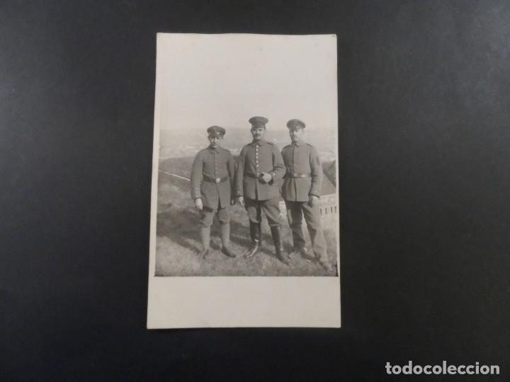 Militaria: 3 SOLDADOS IMPERIALES ALEMANES. II REICH. AÑOS 1914-18 - Foto 2 - 135744702