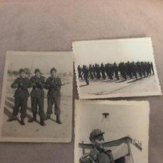 Militaria: LOTE FOTOGRAFÍAS MILITARES SOLDADOS ESPAÑOLES INSTRUCCIÓN AÑOS 50. Lote 135777150