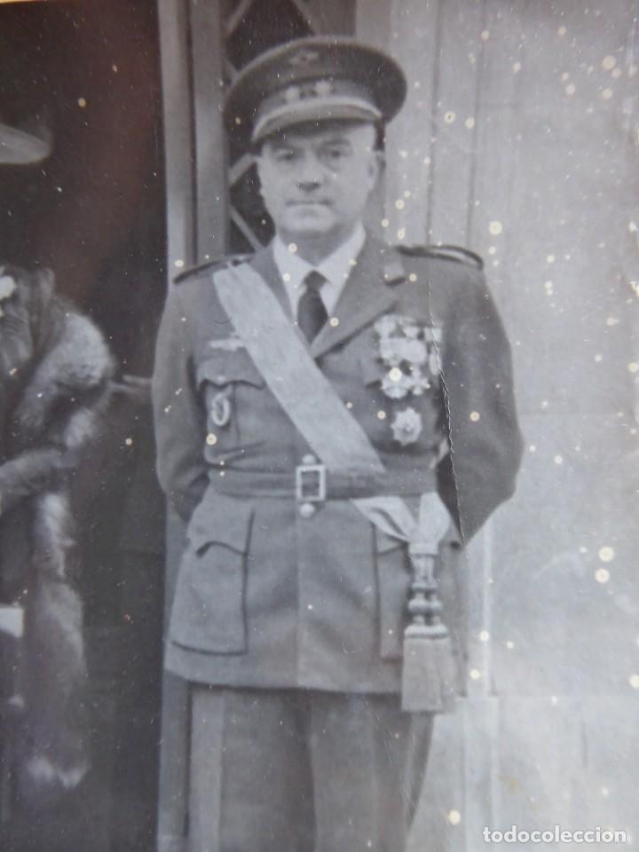 FOTOGRAFÍA TENIENTE CORONEL AVIACIÓN. (Militar - Fotografía Militar - Otros)