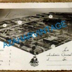 Militaria: ANTIGUA FOTOGRAFIA VISTA AEREA DE LA ACADEMIA GENERAL DEL AIRE, 165X110MM. Lote 136000706