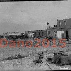 Militaria: CAMPAÑA MILITAR GUERRA DEL RIF MARRUECOS 1909 - NEGATIVO DE CRISTAL - FOTOGRAFIA ANTIGUA. Lote 136034046