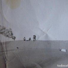 Militaria: FOTOGRAFÍA PARACAIDISTAS BRIGADA PARACAIDISTA. BRIPAC 1ª PATRULLA BOTES DE HUMO. Lote 136110146
