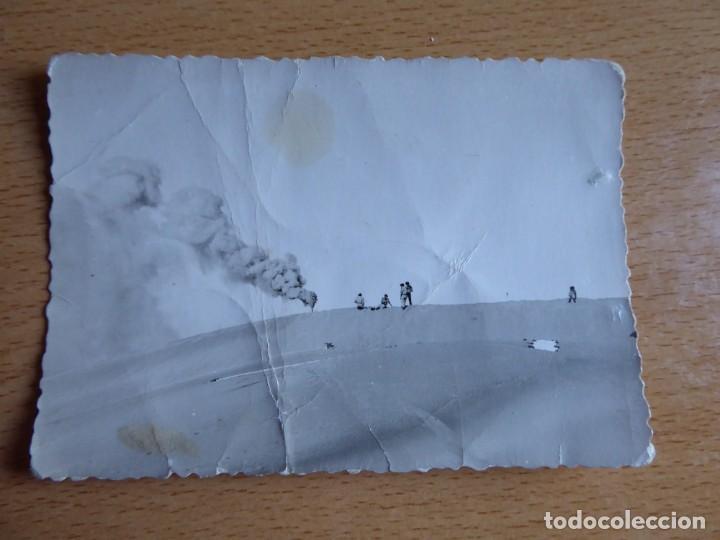 Militaria: Fotografía paracaidistas Brigada Paracaidista. BRIPAC 1ª patrulla botes de humo - Foto 2 - 136110146