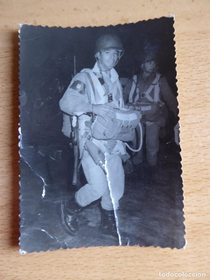 Militaria: Fotografía paracaidista Brigada Paracaidista. BRIPAC Roger de flor - Foto 2 - 136151082
