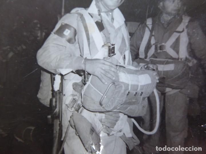 Militaria: Fotografía paracaidista Brigada Paracaidista. BRIPAC Roger de flor - Foto 3 - 136151082