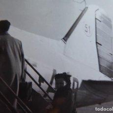 Militaria: FOTOGRAFÍA DC-3 AVIÓN IBERIA.. Lote 136159234