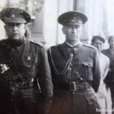Militaria: FOTOGRAFÍA GENERAL DE DIVISIÓN HABILITADO DEL EJÉRCITO NACIONAL.. Lote 136160318