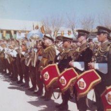 Militaria: FOTOGRAFÍA BANDA DE MÚSICA CUARTEL GENERAL DEL EJÉRCITO.. Lote 136221334