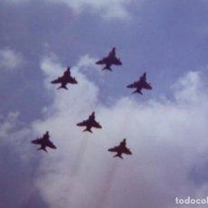 Militaria: FOTOGRAFÍA CAZAS MIRAGE DEL EJÉRCITO DEL AIRE. DESFILE DE LA VICTORIA. Lote 136229298