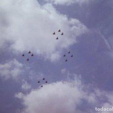 Militaria: FOTOGRAFÍA CAZAS MIRAGE DEL EJÉRCITO DEL AIRE. DESFILE DE LA VICTORIA. Lote 136229374