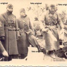Militaria: OFICIALES LEGION CONDOR ZONA MONTAÑOSA TARRAGONA ARTILLERIA TRANSMISIONES GUERRA CIVIL. Lote 136490210