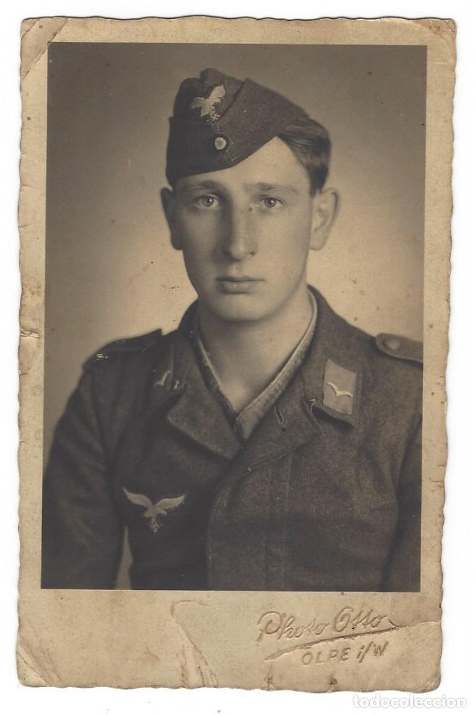 SUBOFICIAL LUFTWAFFE (Militar - Fotografía Militar - II Guerra Mundial)