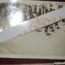 Militaria: FOTO INEDITA 19 . V 1939 DESFILE DEL TABOR REGULARES LEGION GUERRA CIVIL. Lote 136668658