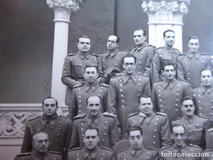 Militaria: Fotografía profesores Academia de Infantería de Transformación. Guadalajara - Foto 4 - 137158578