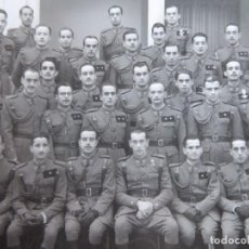 Militaria: FOTOGRAFÍA TENIENTES PROVISIONALES ACADEMIA DE INFANTERÍA DE TRANSFORMACIÓN. GUADALAJARA 2ª SECCIÓN. Lote 137159926