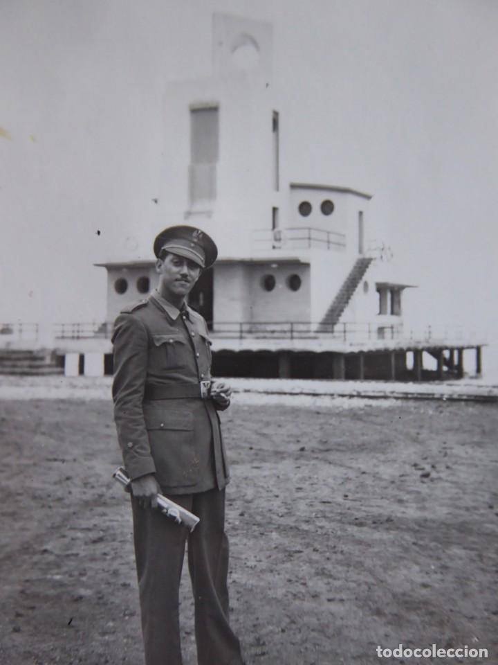 FOTOGRAFÍA ALFÉREZ DEL EJÉRCITO ESPAÑOL. CLUB NÁUTICO NADOR (Militar - Fotografía Militar - Otros)