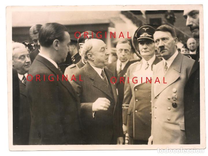 ADOLF HITLER Y HERMANN GÖRING EN ACTO SOCIAL (Militar - Fotografía Militar - II Guerra Mundial)