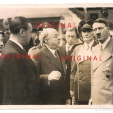 Militaria: ADOLF HITLER Y HERMANN GÖRING EN ACTO SOCIAL. Lote 137190954