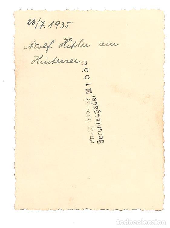 Militaria: ADOLF HITLER EN FECHA 23 DE JULIO DE 1935 - Foto 2 - 137191498
