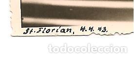 Militaria: ADOLF HITLER EN VISITA A LA CIUDAD DE ST. FLORIAN EN FECHA 4 DE ABRIL DE 1943 - Foto 2 - 137192490