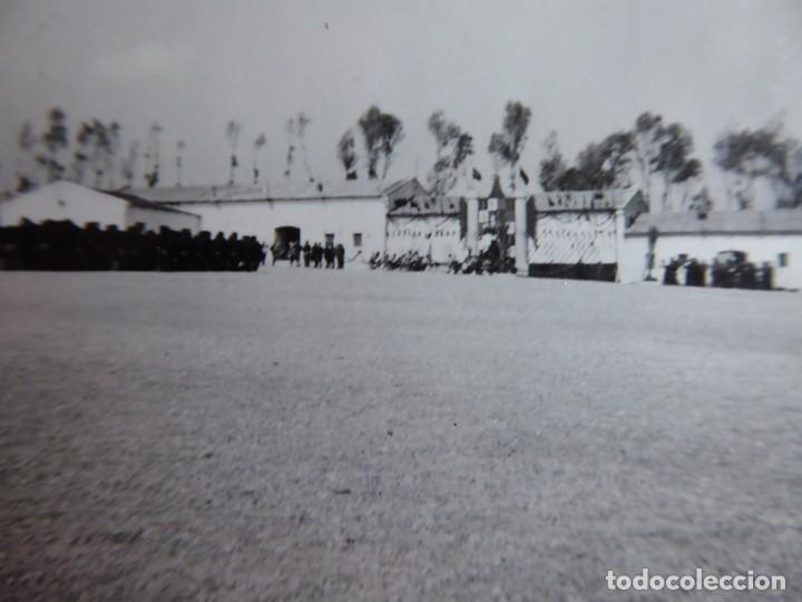FOTOGRAFÍA ACADEMIA DAR RIFFIEN. CEUTA (Militar - Fotografía Militar - Guerra Civil Española)