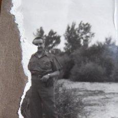 Militaria: FOTOGRAFÍA COMANDANTE DEL EJÉRCITO POPULAR DE LA REPÚBLICA. EL PARDO 1937. Lote 137366438