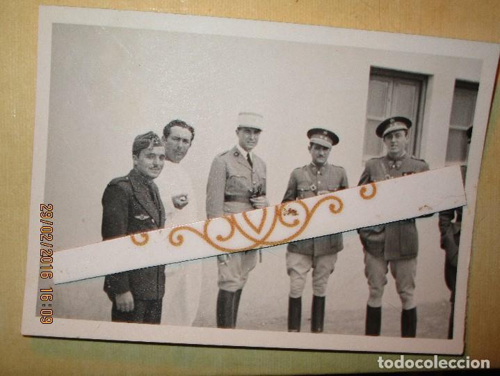 Militaria: MELILLA GUERRA CIVIL MANDOS oficiales CAPITAN PILOTO de aviacion aliados Y legion - Foto 2 - 137400410