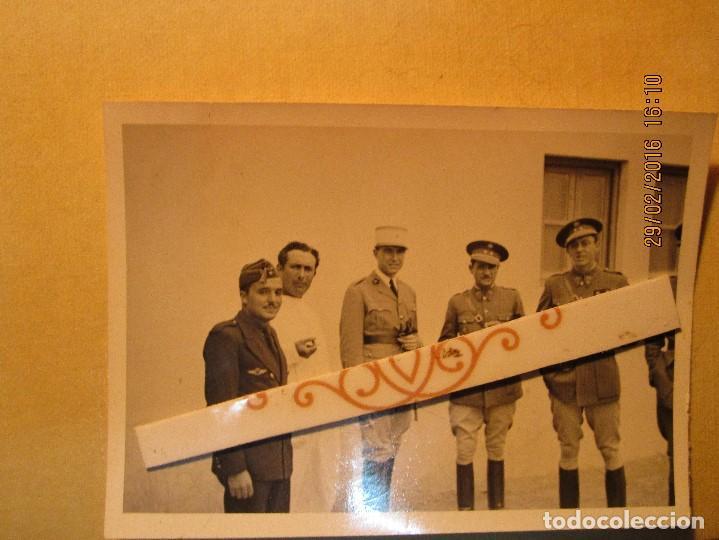 Militaria: MELILLA GUERRA CIVIL MANDOS oficiales CAPITAN PILOTO de aviacion aliados Y legion - Foto 6 - 137400410