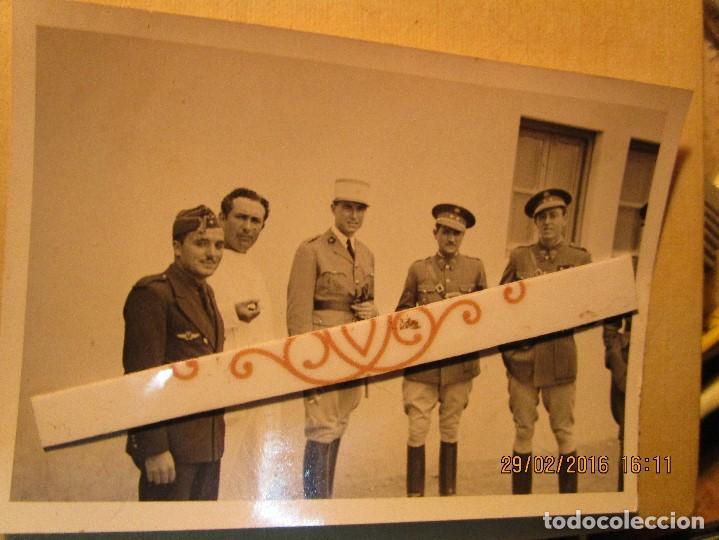 Militaria: MELILLA GUERRA CIVIL MANDOS oficiales CAPITAN PILOTO de aviacion aliados Y legion - Foto 7 - 137400410