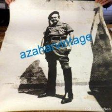 Militaria: CARLISMO, ESPECTACULAR FOTOGRAFIA DE UN REQUETE, 50X60 CMS. Lote 137426298