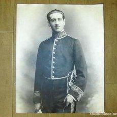 Militaria: FOTOGRAFÍA GRAN FORMATO (50 X 40 CM) DEL IV CONDE DE LA TORRE DE SAN BRAULIO. ÉPOCA DE ALFONSO XIII. Lote 137663178
