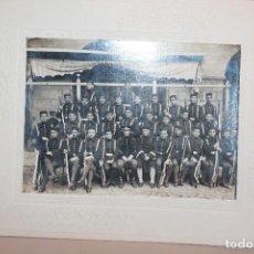 Militaria: FOTO DE SOLDADOS, GENERAL DE BRIGADA Y SARGENTO DEL CUERPO DE INGENIEROS, ALFONSO XIII. INF. 4 FOTOS. Lote 137665758