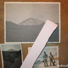 Militaria: LOTE 3 FOTOS OFICIAL Y SOLDADO LEGION GUERRA CIVIL INICIOS LAS PALMAS TENERIFE CIRCA 1936. Lote 137684054