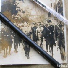 Militaria: FOTOGRAFIA DEL FÜHRER ADOLFO HITLER VISITANDO UNA CIUDAD ALEMANA.. Lote 137710298