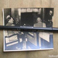 Militaria: FOTOGRAFIA DE HITLER Y MUSSOLINI EN LA CONFERENCIA DE MUNICH.. Lote 137711586