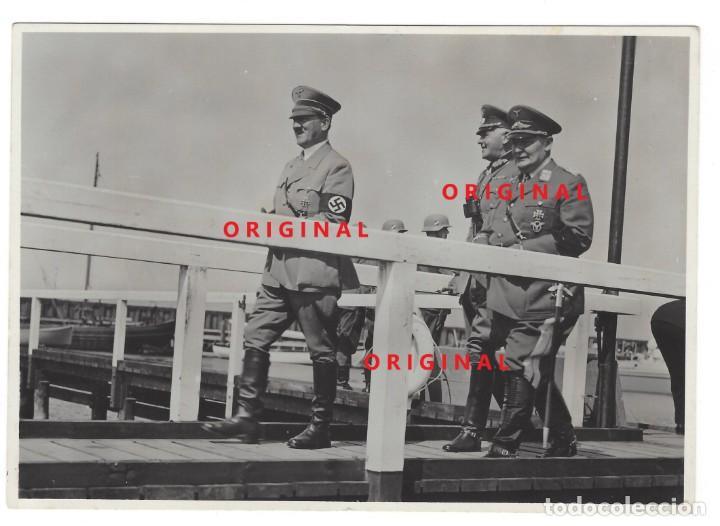 HITLER, VON BLOMBER Y GÖRING. FOTOGRAFÍA DE PRENSA (Militar - Fotografía Militar - II Guerra Mundial)