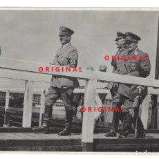 Militaria: HITLER, VON BLOMBER Y GÖRING. FOTOGRAFÍA DE PRENSA. Lote 137773534
