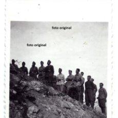 Militaria: MISA CAMPAÑA CIMA SERRA DE CAVALLS CTV DIVISION LITTORIO TARRAGONA GUERRA CIVIL. Lote 137841498
