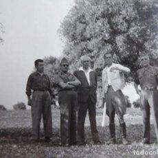 Militaria: FOTOGRAFÍA COMANDANTE DEL EJÉRCITO POPULAR DE LA REPÚBLICA. EL PARDO 1937. Lote 137849362