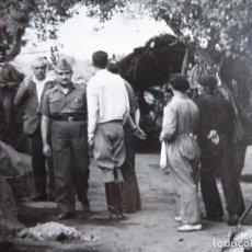 Militaria: FOTOGRAFÍA COMANDANTE DEL EJÉRCITO POPULAR DE LA REPÚBLICA. EL PARDO 1937. Lote 137849786