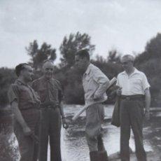 Militaria: FOTOGRAFÍA COMANDANTE DEL EJÉRCITO POPULAR DE LA REPÚBLICA. EL PARDO 1937. Lote 137850786