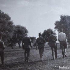 Militaria: FOTOGRAFÍA COMANDANTE DEL EJÉRCITO POPULAR DE LA REPÚBLICA. EL PARDO 1937. Lote 137850938