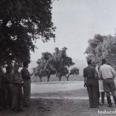 Militaria: FOTOGRAFÍA COMANDANTE DEL EJÉRCITO POPULAR DE LA REPÚBLICA. EL PARDO 1937. Lote 137851002